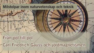 Milstolpar Del 2: Från pol till pol – Carl Friedrich Gauss och jordmagnetismen