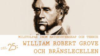 Milstolpar Del 25: William Robert Grove