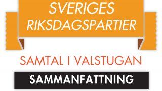 Samlingsavsnitt (Sveriges Riksdagspartier: Samtal i valstugan)