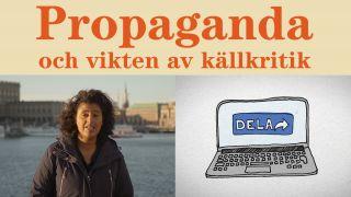 Propaganda och vikten av källkritik