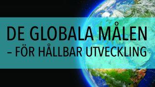 De globala målen – för hållbar utveckling