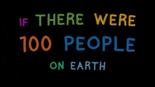 If there were 100 people on earth