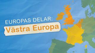 Europas delar: Västra Europa