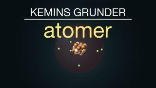 Kemins grunder: Atomer