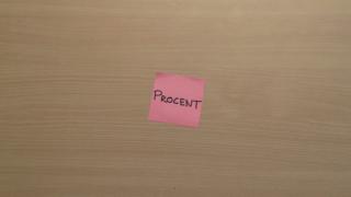 Matematik i vardagen - Procent