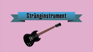 Musikinstrument - Stränginstrument