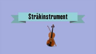 Musikinstrument - Stråkinstrument