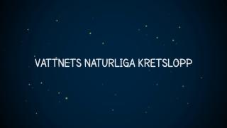 Vattnets naturliga kretslopp