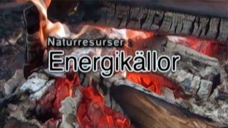 Naturresurser: Energikällor