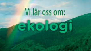Vi lär oss om: Ekologi